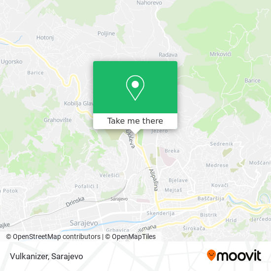 Vulkanizer map