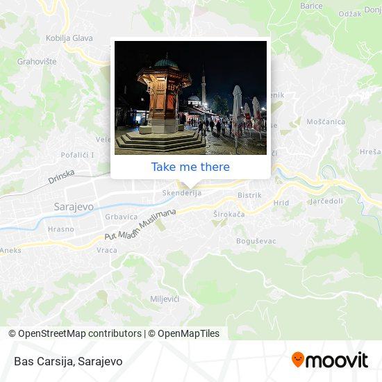 Bas Carsija map