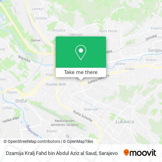 Dzamija Kralj Fahd bin Abdul Aziz al Saud map
