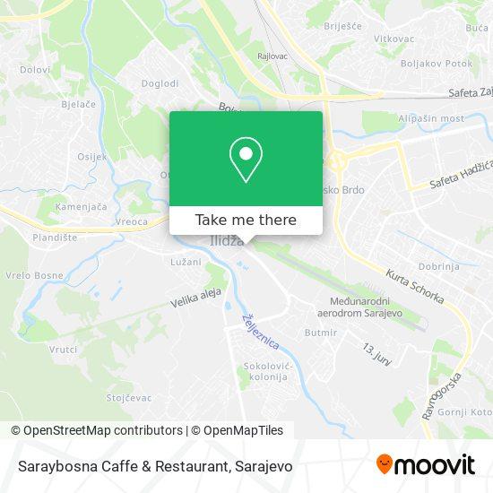 Saraybosna Caffe & Restaurant map