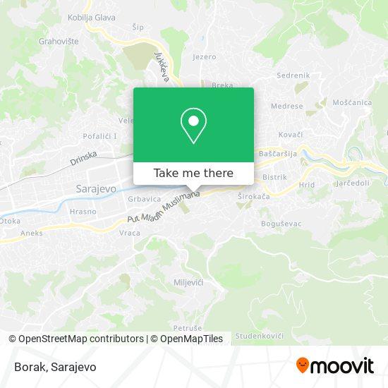 Borak map