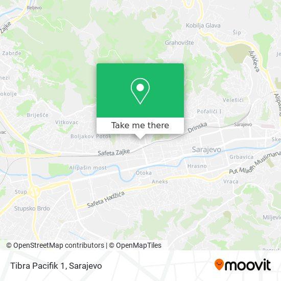 Tibra Pacifik 1 map