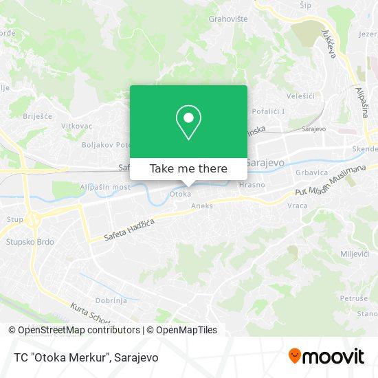 "TC ""Otoka Merkur"" map"