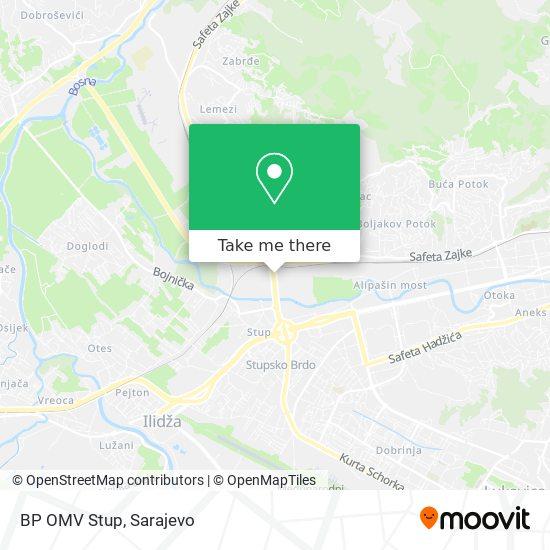 BP OMV  Stup map