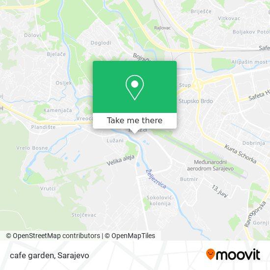 cafe garden map