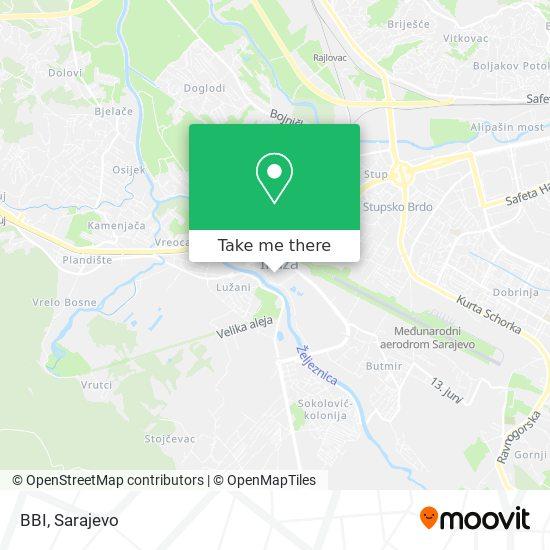 BBI map