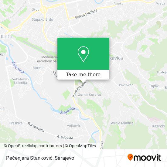 Pečenjara Stanković map