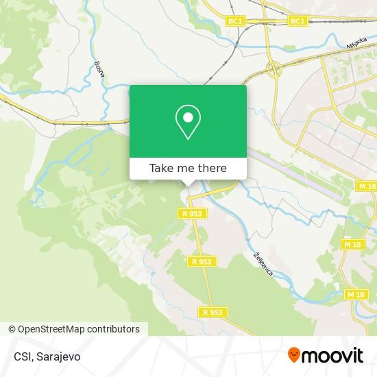 CSI map