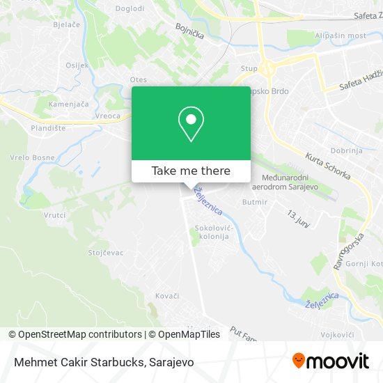 Mehmet Cakir Starbucks map