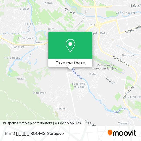 B'B'D 🙋🏼💅🎀💞 ROOMS map