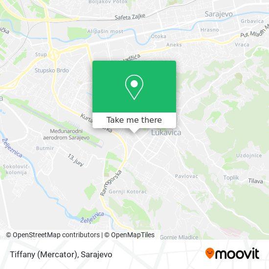 Tiffany (Mercator) map
