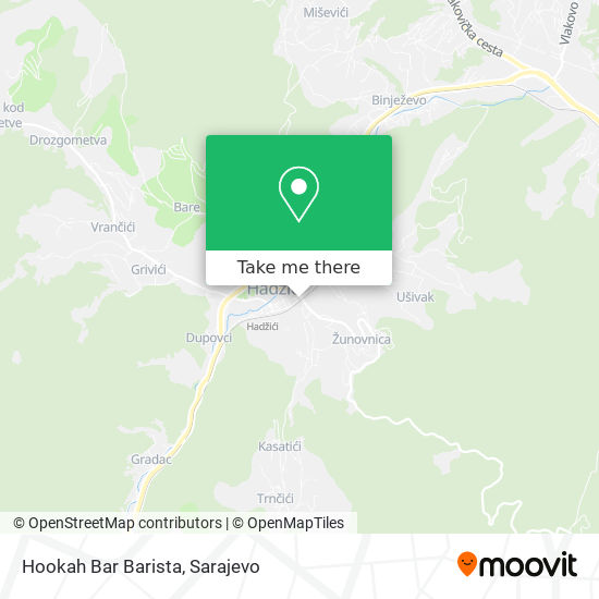Hookah Bar Barista map