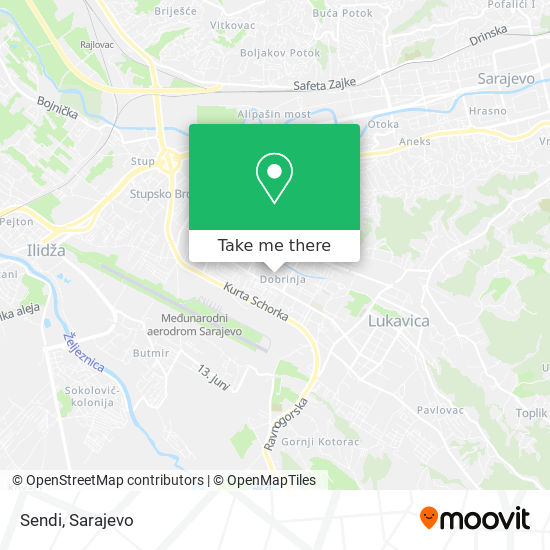 Sendi map