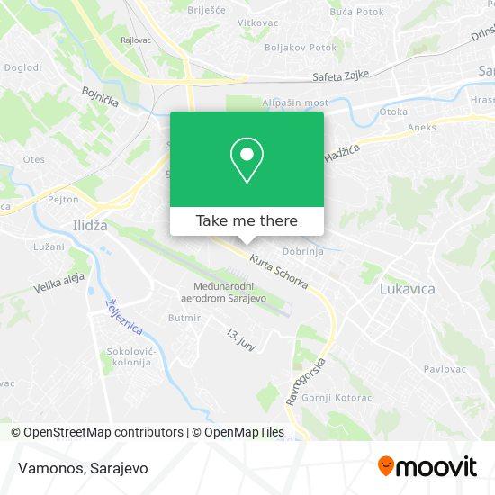 Vamonos map