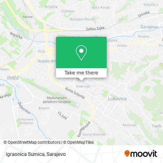 igraonica Sumica map