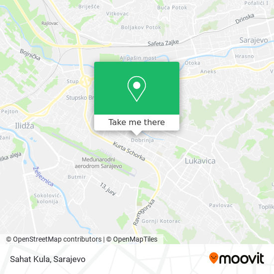 Sahat Kula map