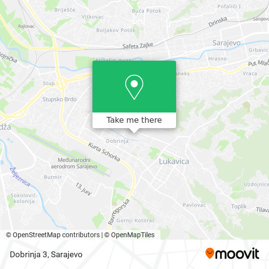 Dobrinja 3 map