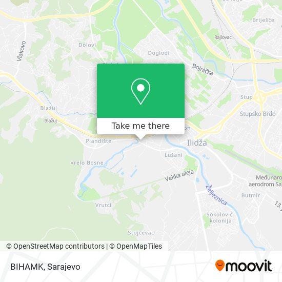BIHAMK map