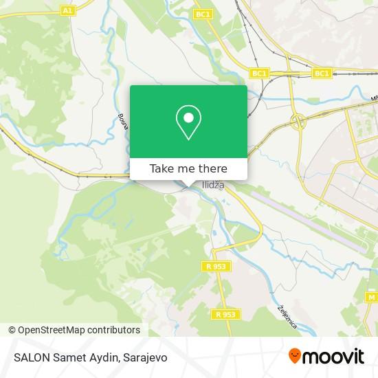 SALON Samet Aydin map