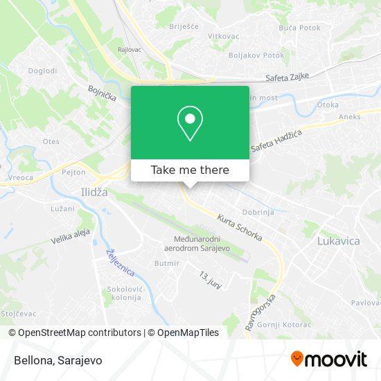 Bellona map