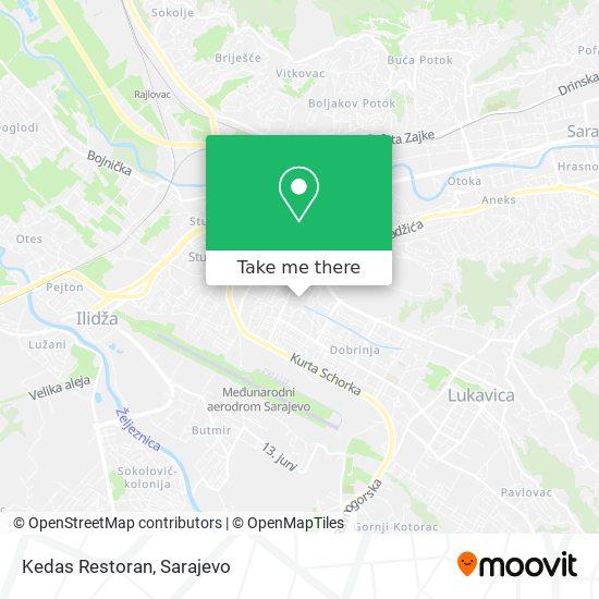 Kedas Restoran map