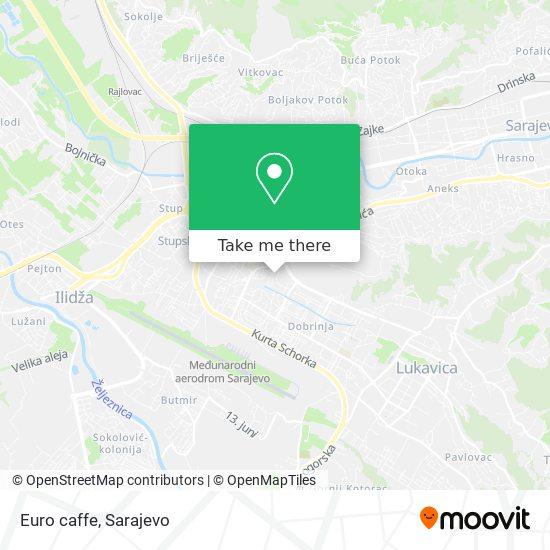 Euro caffe map