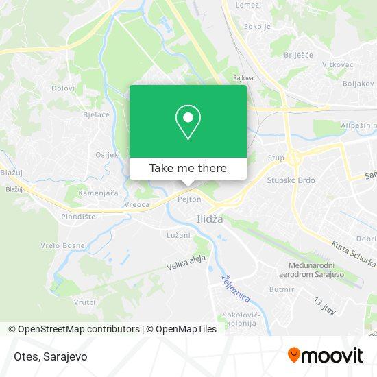 Otes map