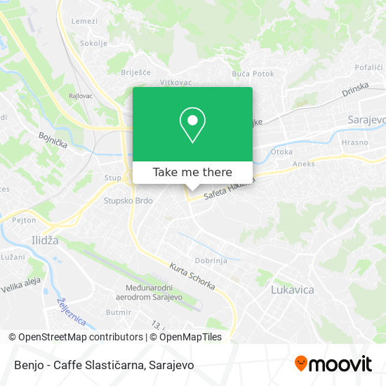 Benjo - Caffe Slastičarna map