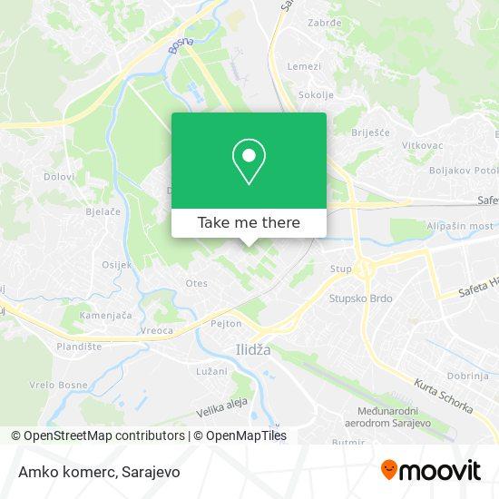 Amko komerc map