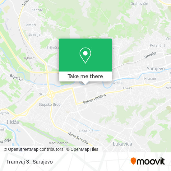 Tramvaj 3. map