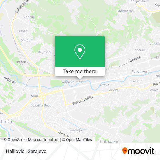 Halilovici map