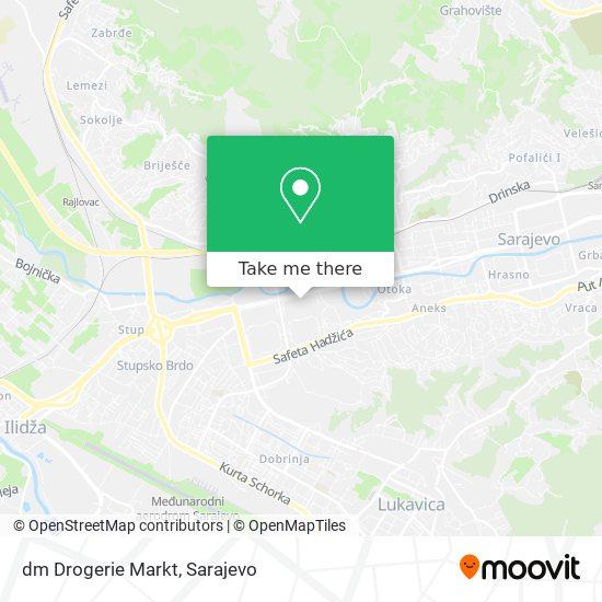 dm Drogerie Markt map