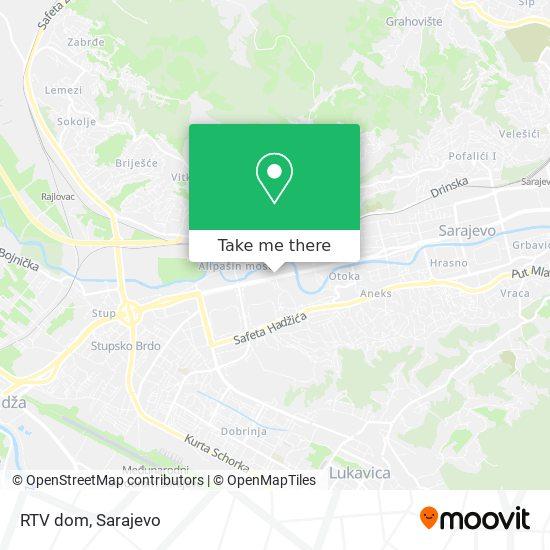 RTV dom map