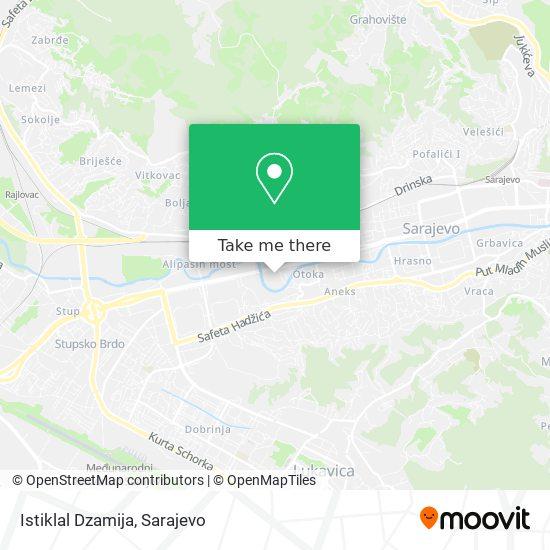 Istiklal Dzamija map