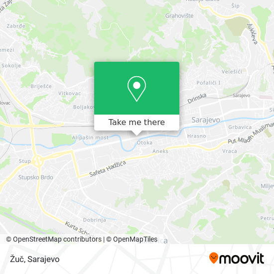 Žuč map