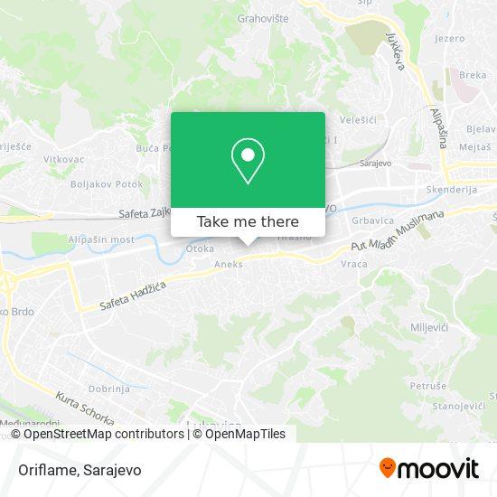 Oriflame map
