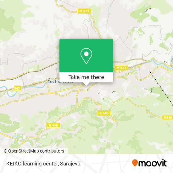 KEIKO learning center map