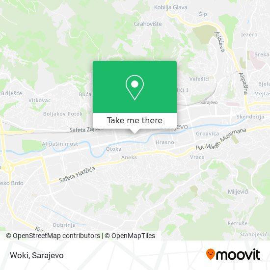 Woki map