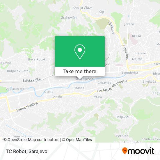TC Robot map