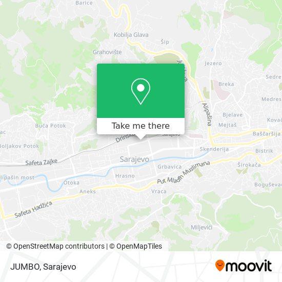 JUMBO map