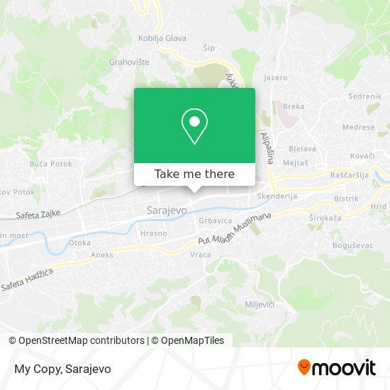My Copy map