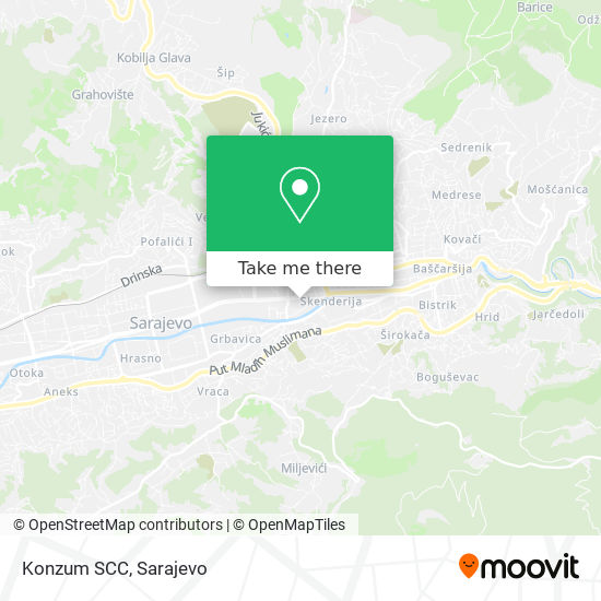 Konzum SCC map