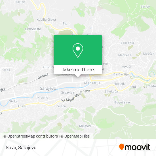 Sova map