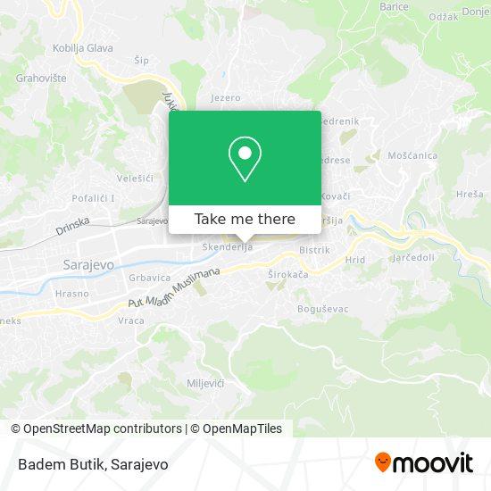 Badem Butik map