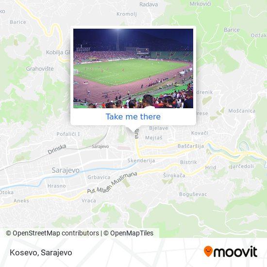 Kosevo map
