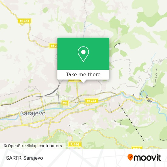 SARTR map