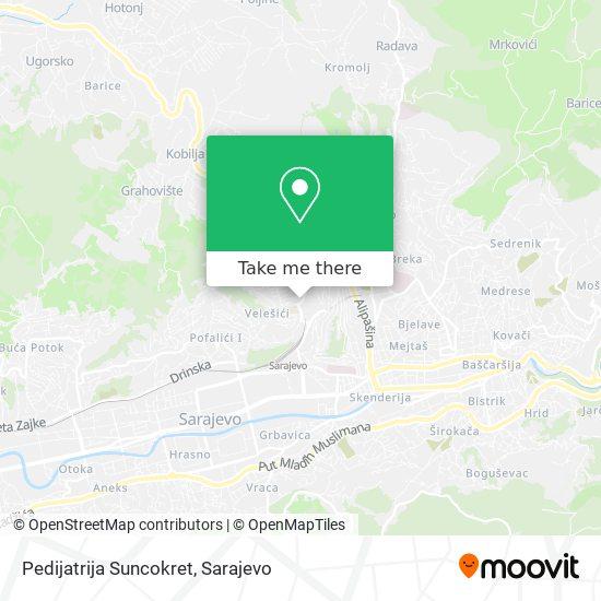 Pedijatrija Suncokret map