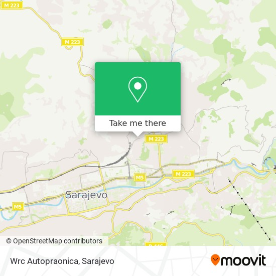 Wrc Autopraonica map