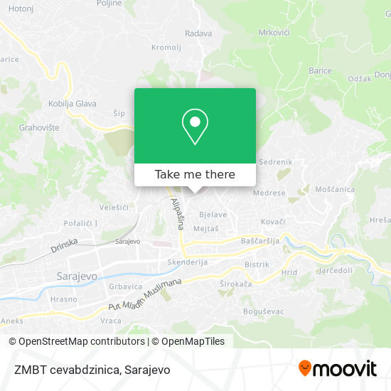 ZMBT cevabdzinica map