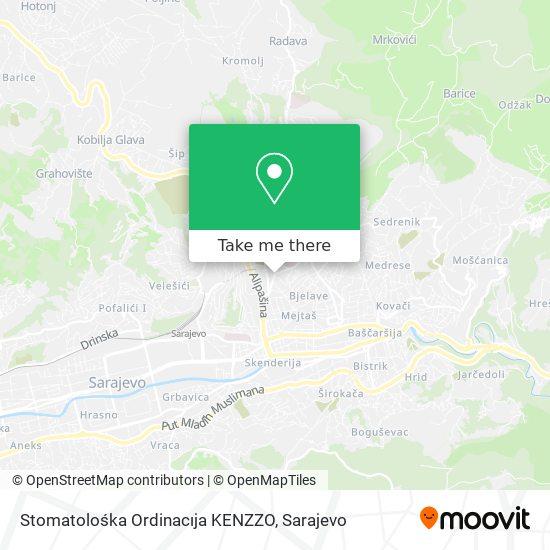 Stomatolośka Ordinacıja KENZZO map